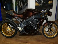 Triumph Speed Triple във версия Brown Racer